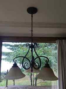 Lampe de type chandelier 3 lumières Saguenay Saguenay-Lac-Saint-Jean image 2