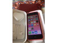 iPhone 5c unlocked ( excellent condition)