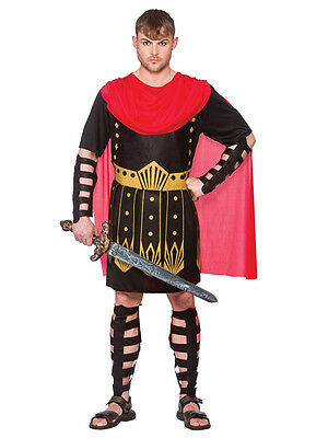 Adult Roman Spartan Gladiator Warrior Mens Fancy Dress - Spartan Outfits