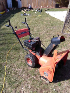 "MasterCraft 26""  Snowblower, electric start"