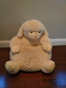 Baby/ toddler stuffed lamb chair