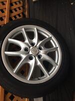 Porsche Cayenne tires with Rim 275/45R19