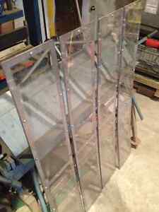 Re-Purposed  316 Stainless Steel Frames with Plexiglass Covers Cambridge Kitchener Area image 2