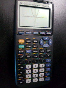Texas Instruments TI-83Plus Graphing Calculator.  Minty.