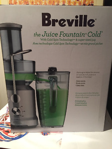 Juicer - Breville - the Juice Fountain Cold - PRICE REDUCED!
