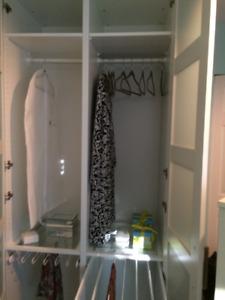 Wardrobe 2 Door Pax Wardrobe x 2 $550 each/$900 Both