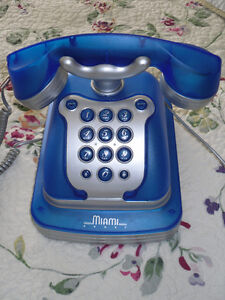 Old School looking push button Telephone land line