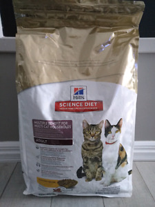 Nourriture pour chat science diet neuf