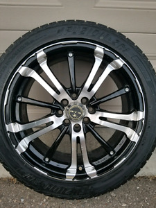 "17"" RTX rims with BFGoodrich/Fuzion tires"