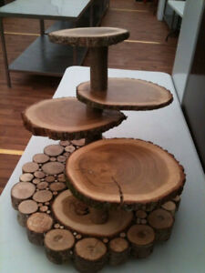 ***CUPCAKE STAND FOR WEDDING WOOD***