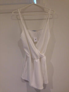 jumpsuit blanc urban outfitters