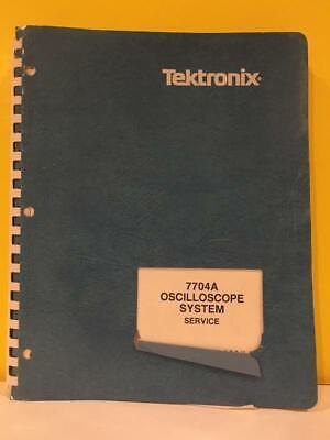 Tektronix 070-1260-00 7704a Oscilloscope System Service Instruction Manual