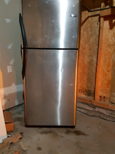 Frigidaire Stainless Steel Fridge Great Condition