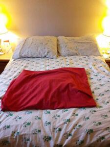 Set sheets - comforter - pillows