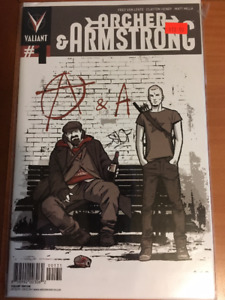 ARCHER & ARMSTRONG VARIANT #1 August 2012 Comic Book