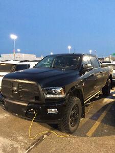 2014 Dodge Ram 3500 Laramie Long Box Black Out