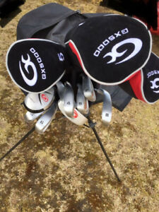 full set of GX5000 golf clubs like new. Right hand