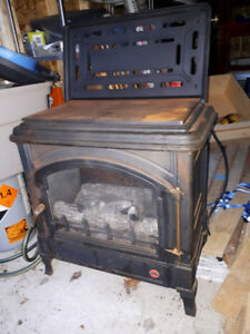 Propane cook top stove