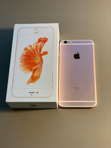 Apple iPhone 6s Plus Rose Gold 32G Unlocked - Mint Condition