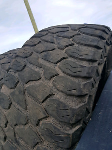 Price reduced! 35x12.50R20 AMP All Terrain tires