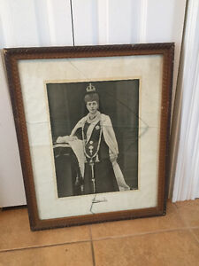 Antique Frame and Picture