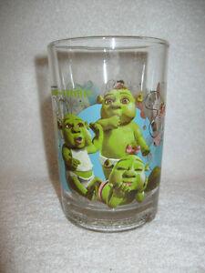 2007 Deamworks Shrek the Third McDonald's Glass