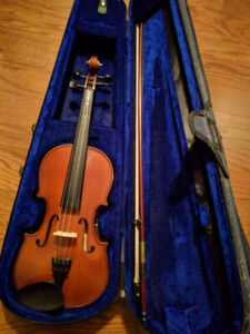 4/4 full adult size violin Menzel MDN400VF Outfit