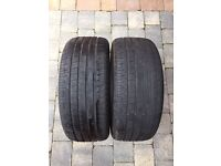 3 x 235 45 17 tyres. (6-7mm tread) £25 each or 3 for £60