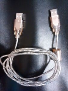 1.6m  USB 2.0 High-Speed A/A Male To Male Cable
