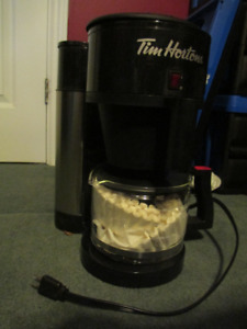 Used only once Tim Hortons Coffee Maker
