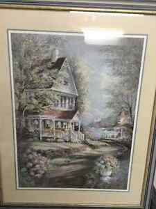 Framed & Matted B. Torkland Print London Ontario image 1