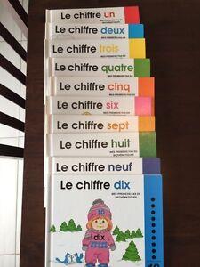Collection de livre francais pour enfant