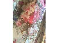 Curtains X 3 pairs and two pelmets
