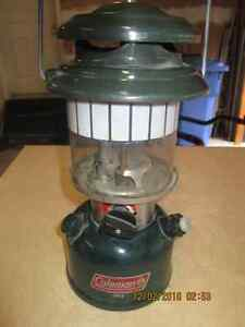 Laterne Coleman Lamp pour camping