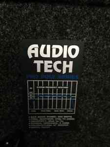 Audio Tech speakers with stands Kitchener / Waterloo Kitchener Area image 2