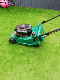 PETROL LAWNMOWER (WITH GRASS BOX.)