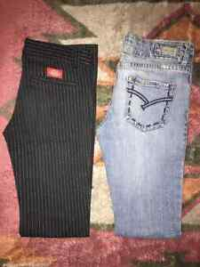 Pants both size 3 $10 each