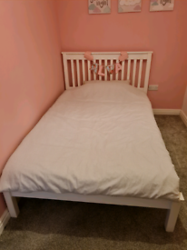 Three quarter bed frame