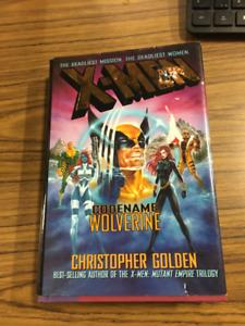 XMen Codename Wolverine by Christopher Golden 1998 Hardcover oop