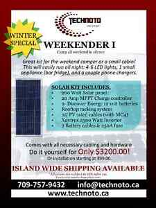 RV/ Small CABIN Solar kit