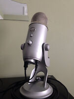 Blue Yeti USB mic - Silver Edition
