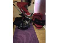 Quinny Buzz 2012 travel sistem £200.00
