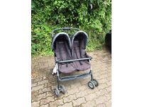 Graco double side by side pushchair