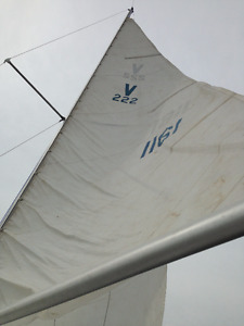 22 foot sailboat and trailer