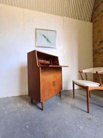 Mid Century Desk Bureau by Jentique