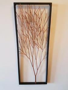Copper tree art piece