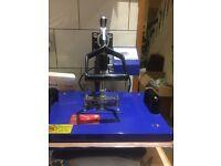 T shirt printing and mug press business in a big box