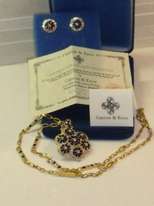 bijoux Camrose and Kross Jacqueline Kennedy collection jewelry