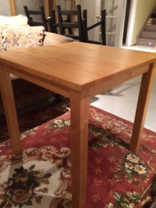 Solid Birch Table $80