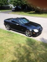 Mercedes SLK 320,Echange possible